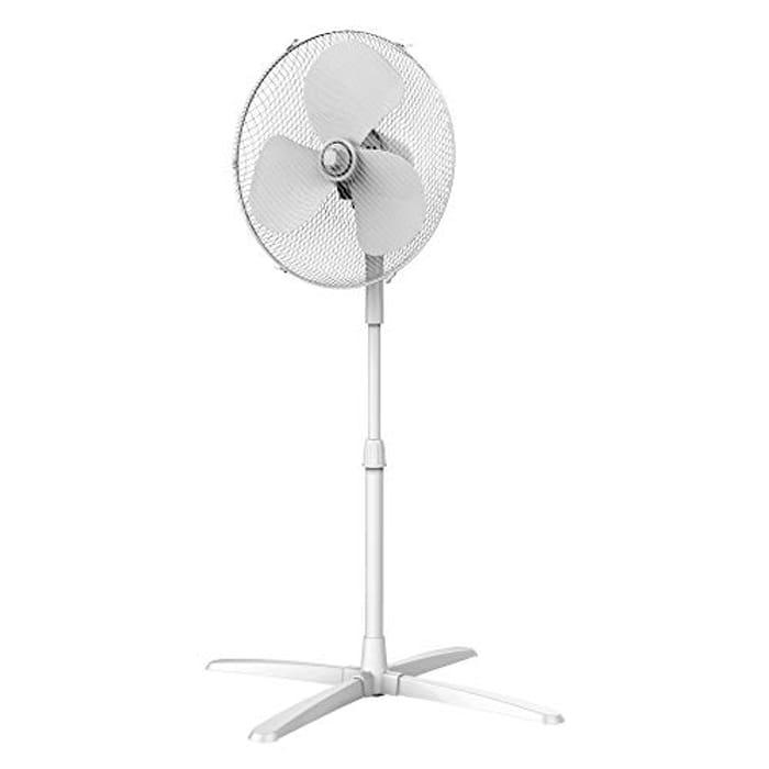 Pedestal Fan, Oscillating, Adjustable Height,