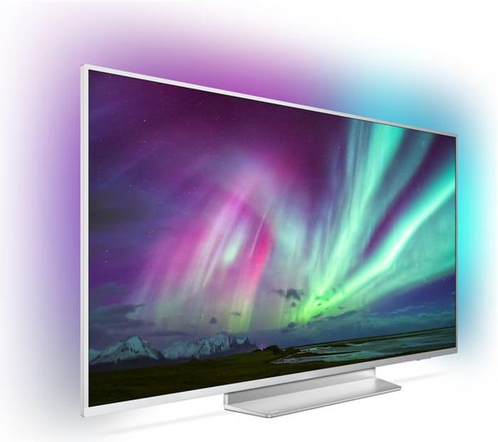 "*SAVE £400* PHILIPS Ambilight 50"" Smart 4K Ultra HD TV + 10 FREE MOVIES"
