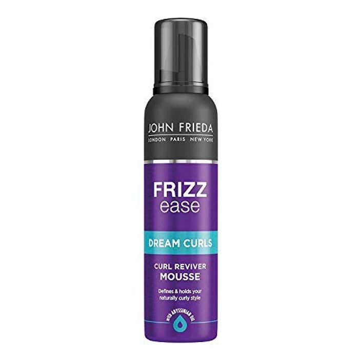 John Frieda Frizz Ease Curl Reviving Hair Mousse for Curly Hair, 200 Ml