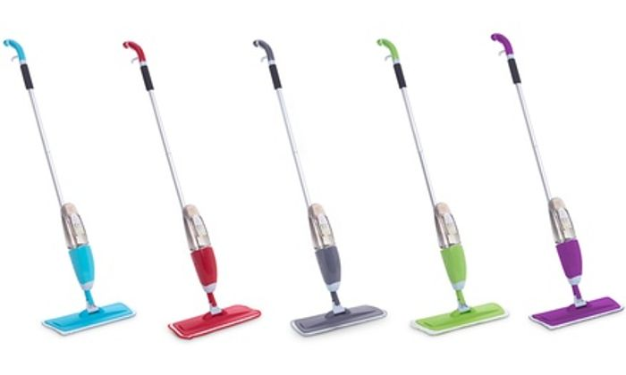 Vinsani Spray Mop with Two Microfibre Pads