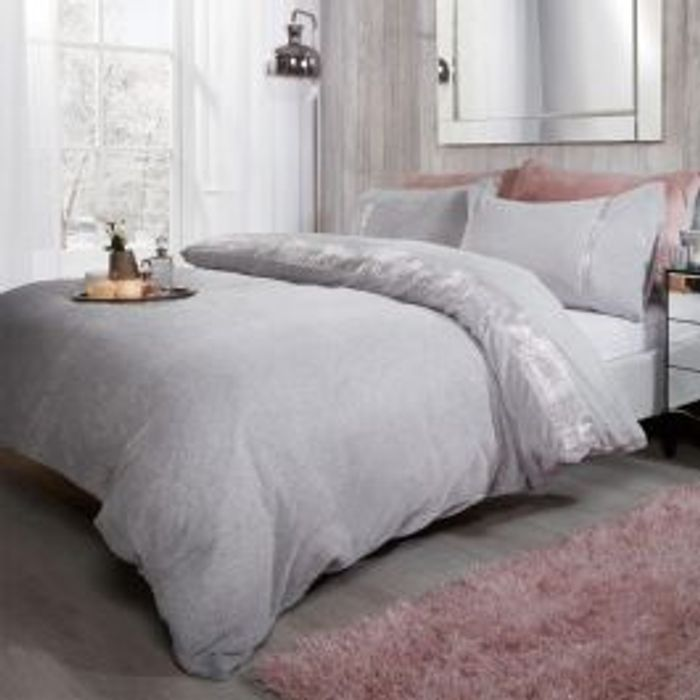 Teddy Diamante Single Duvet Set
