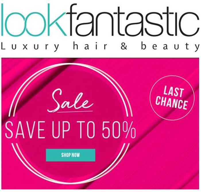 CHEAP! LOOK FANTASTIC SALE - up to 50% off MAKE UP & BEAUTY