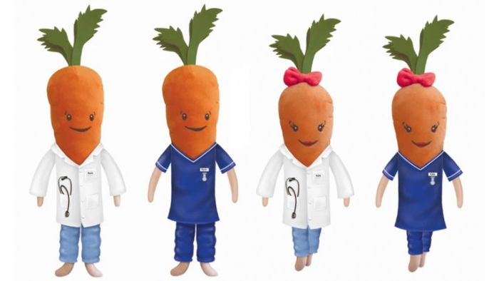Where to Get Kevin the Carrot Limited Edition NHS Toys for NHS Charities