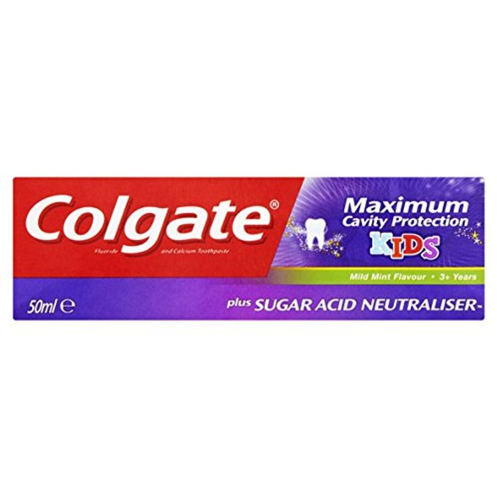Colgate Maximum Cavity Protection 3+ Kids Toothpaste, 50 Ml
