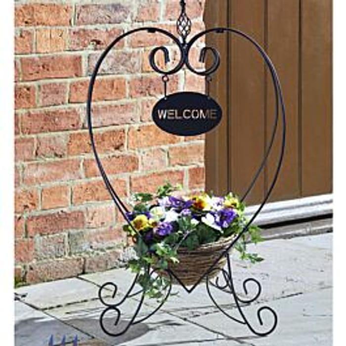 Garden Welcome Planter