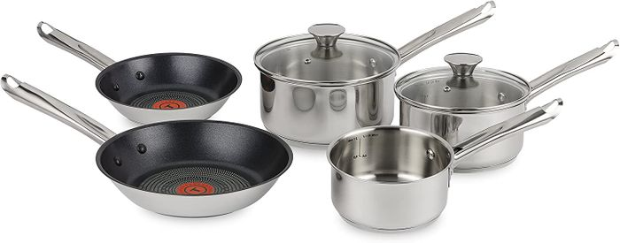 Free Tefal Frying Pan and 5pc Stainless Steel Set at Home Tester Club
