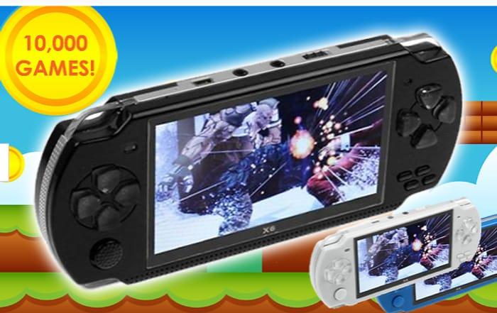 X6 Handheld Console + 10,000 Built-in Games & Earphones + EXTRA 10% Off