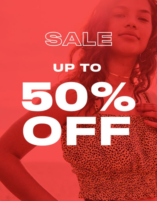 Topshop up to 50% off Sale!