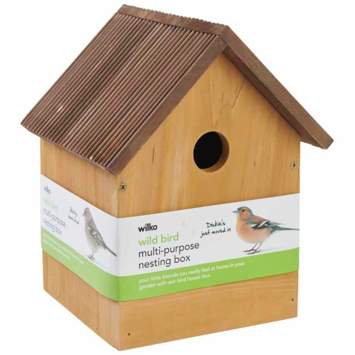Wild Bird Nesting Box - save £2
