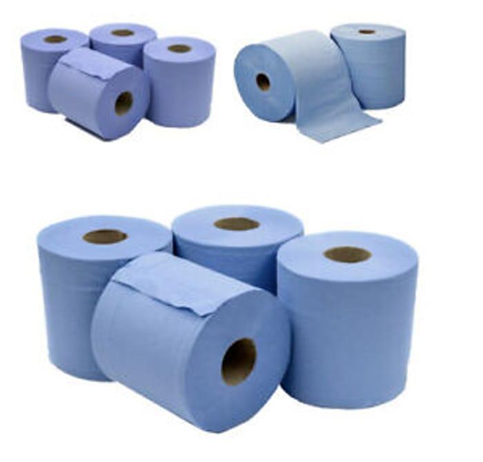 6 X Jumbo Workshop Hand Towel free delivery