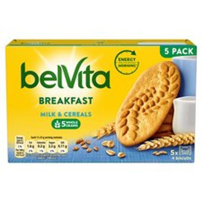 Best Price! Belvita Milk & Cereal Biscuits 225G