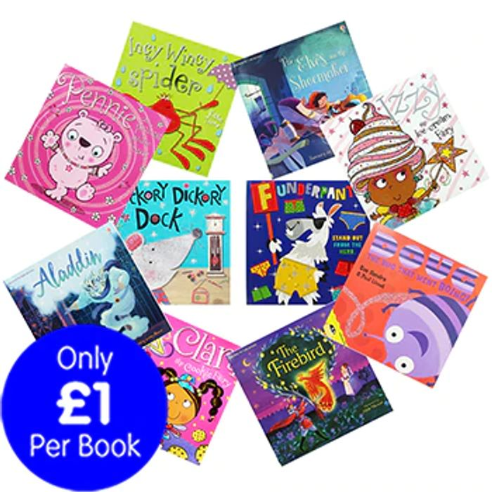 Incy Wincy and Friends - 10 Kids Picture Books Bundle