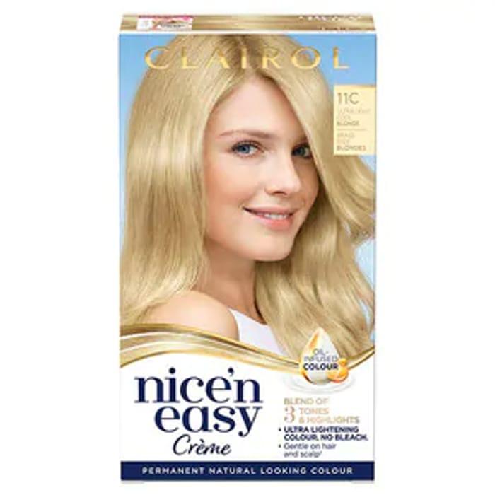 Cheap Nice'n Easy 11C Ultra Light Cool Blonde at Superdrug