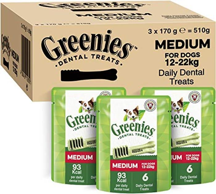 Greenies Daily Original Medium Dog Treats (From 12-22 Kg)