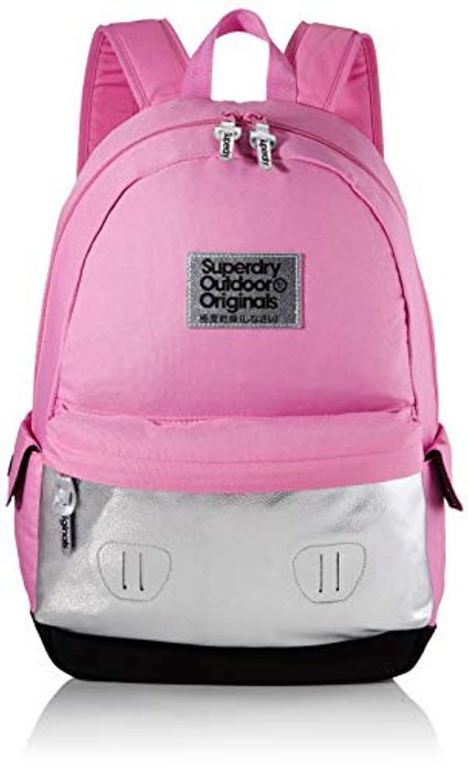 Price Drop! Superdry Colour Change Montana Womens Backpack, Pink