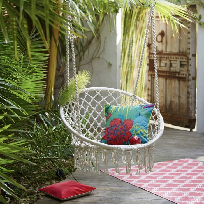 Hammock Chair in Black or Natural (Price Only Available with Credit Account)