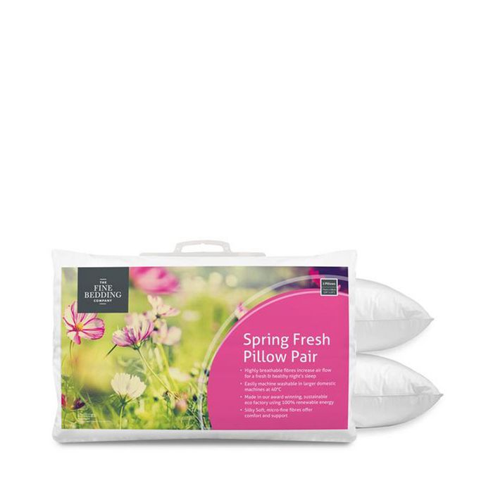 Cheap Fine Bedding Company Spring Fresh Pillow Pair Only £20