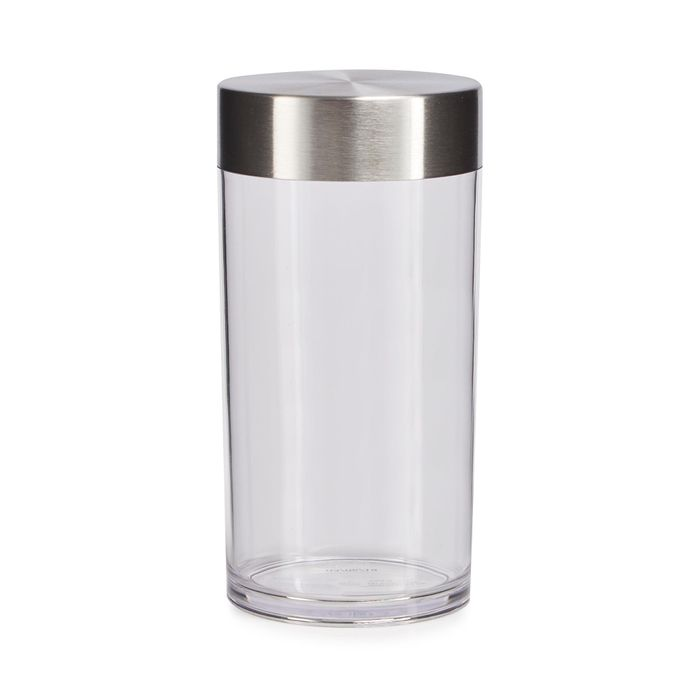 Clear Storage Cylinder, Half Price!