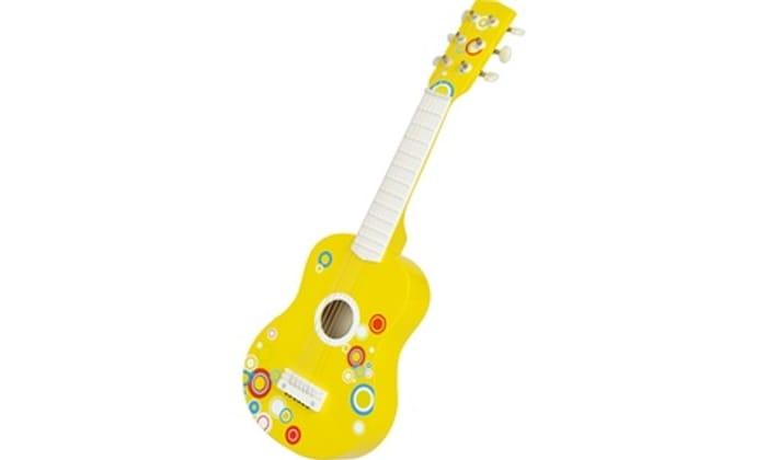 Lelin Kids' Wooden Bubble Guitar