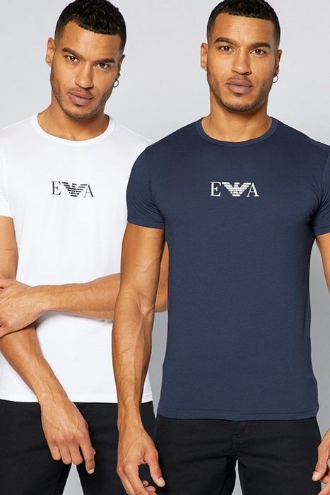 Emporio Armani Pack of 2 Mens T Shirts