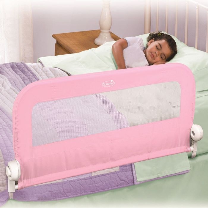 Summer Infant Grow with Me Single Bedrail - Pink