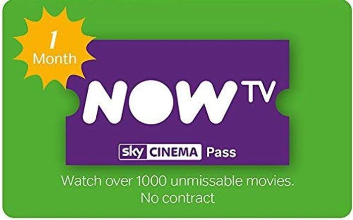 Now Tv 1 Month Cinema Pass