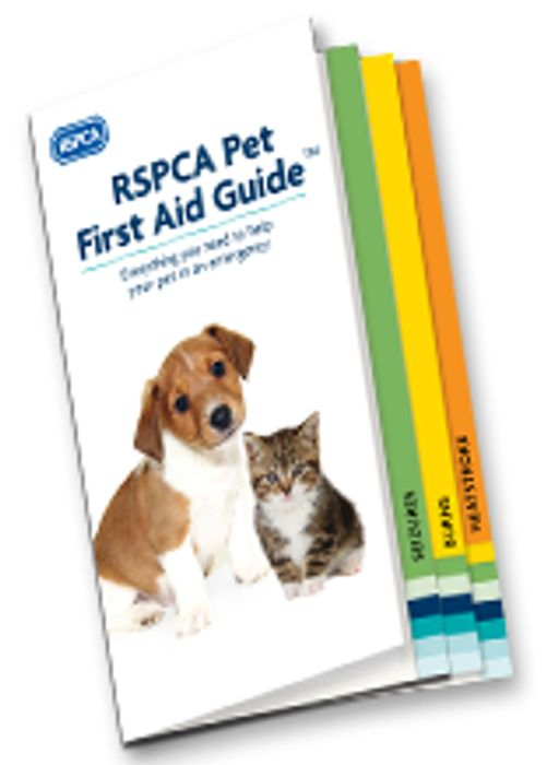 RSPCA Pet First Aid Booklet