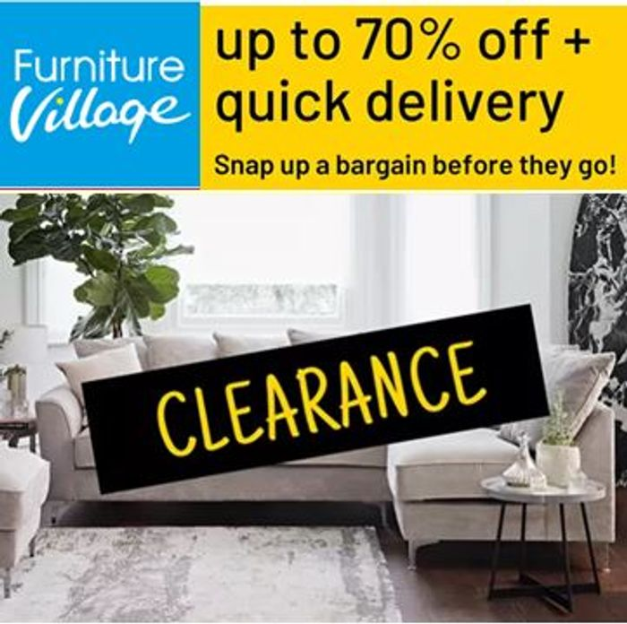 CHEAP! Furniture Village CLEARANCE