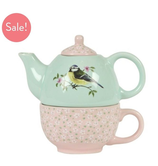 Garden Birds Teapot for One £9 Off