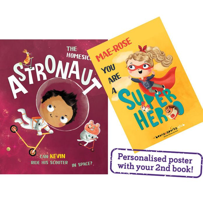 Free Personalised Kids Book & Poster Worth £12.99 - Pay £1.99 Delivery