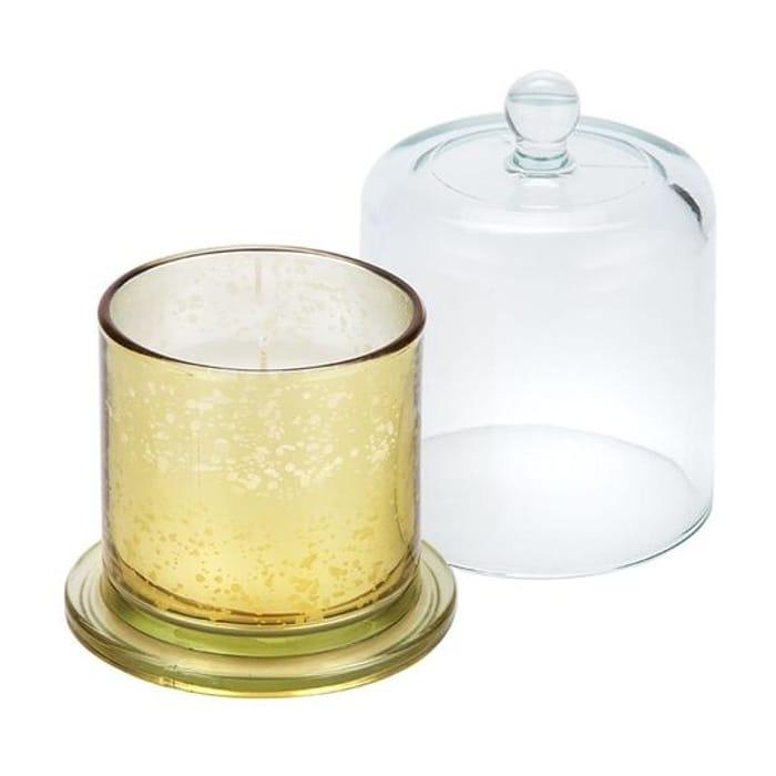 Baltus Metallic Gold Amber & Vanilla Large Cloche Candle