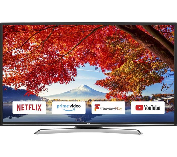 "Cheap JVC 49"" Smart LED TV reduced by £20!"