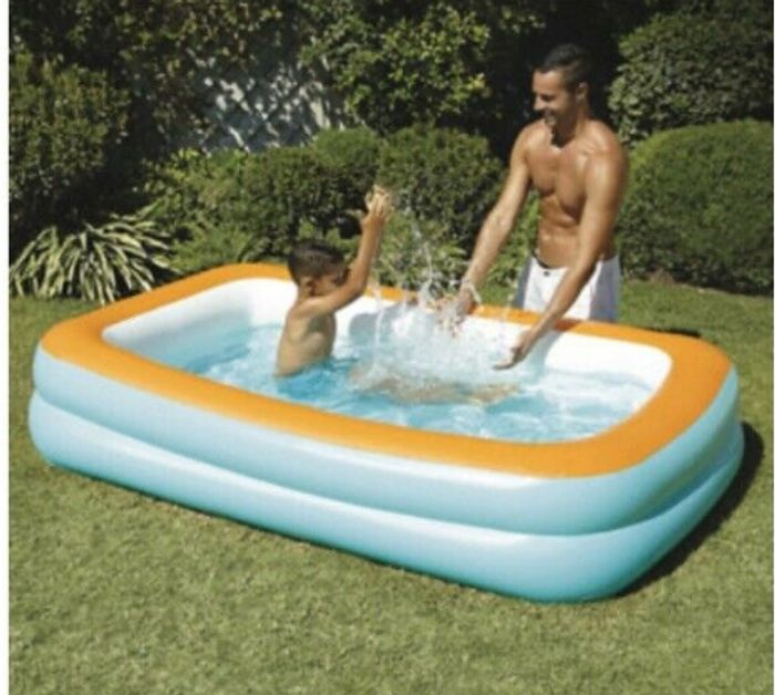 Kid Connection Rectangular Inflatable Paddling Pool (6+ Years)