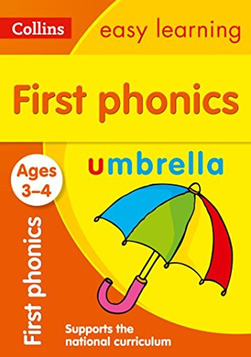 Best Seller - First Phonics Ages 3-4: Ideal for Home Learning