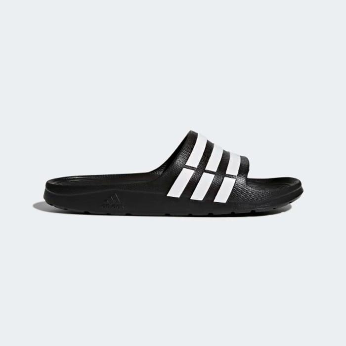 Mens Adidas Duramo Sliders Size 16 to 18