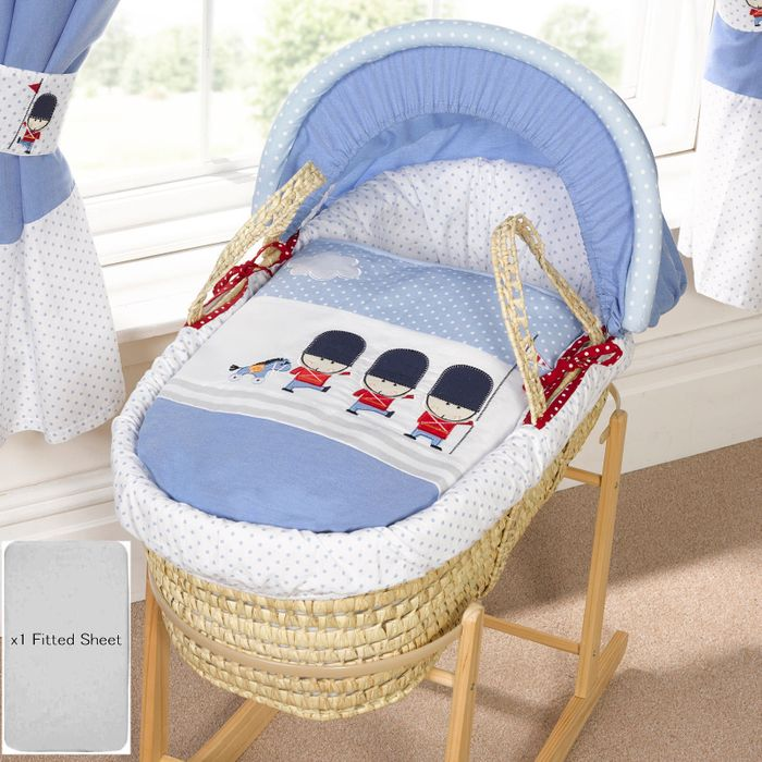 Best Price! 4baby Deluxe Padded Palm Moses Basket & Rocking Stand