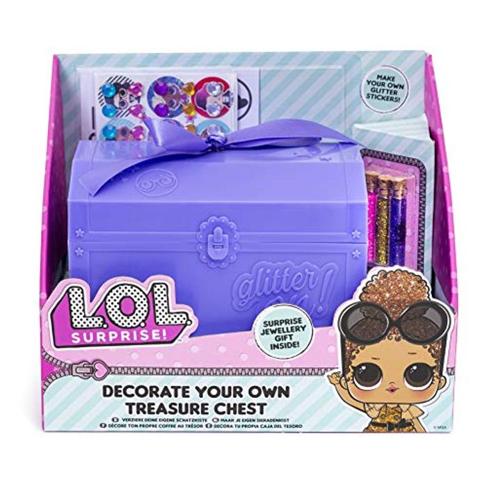 Special Offer - L.O.L. Surprise! 42-0043 Decorate Your Own Jewellery Chest