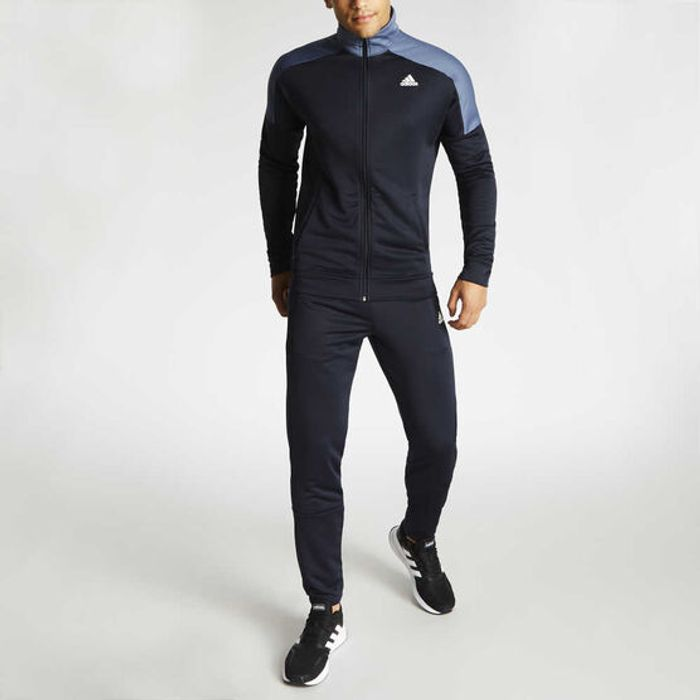 Best Price! Mens Adidas Badge of Sport Tracksuit Size S to XXL