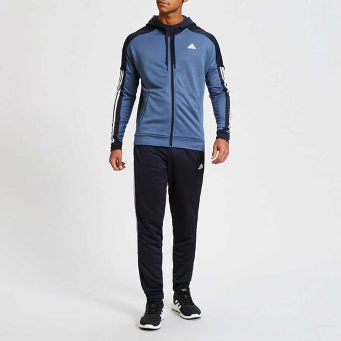 Mens Adidas Game Time Tracksuit Size S to XL