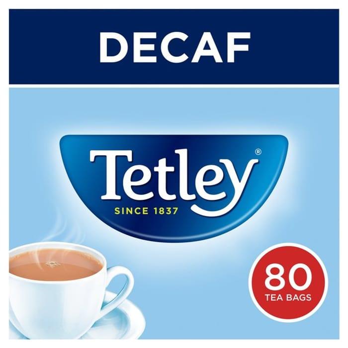 Tetley Decaf Tea Bags 80s250g
