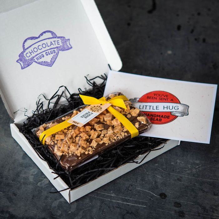 Free Deliveries for Handmade Chocolate Slab gifts to send to someone you miss
