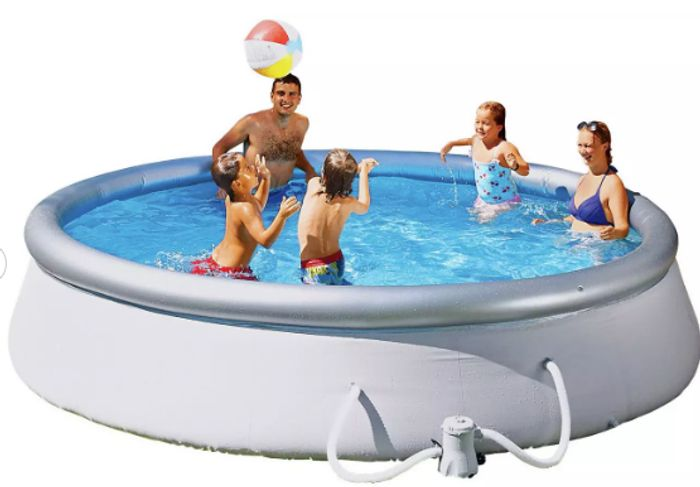 Cheap Bestway 10ft Quick up round Family Pool with Filter Pump & Cover Only £60