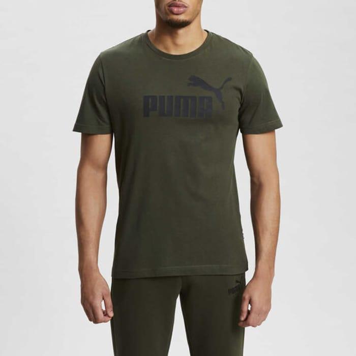 Cheap PUMA Essential Logo T-Shirt Mens Size S to XL - Save £8!