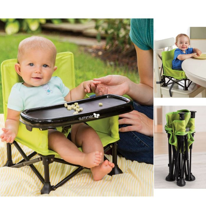 Summer Infant Pop N Sit 2 in 1 Portable Highchair Booster Seat Only £15.95