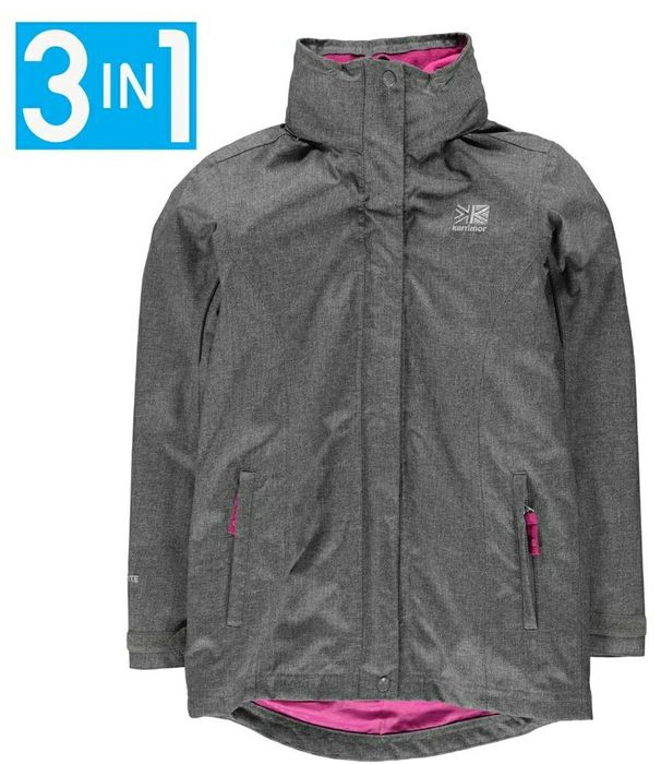 KARRIMOR 3 in 1 Jacket Junior Size 7- 8
