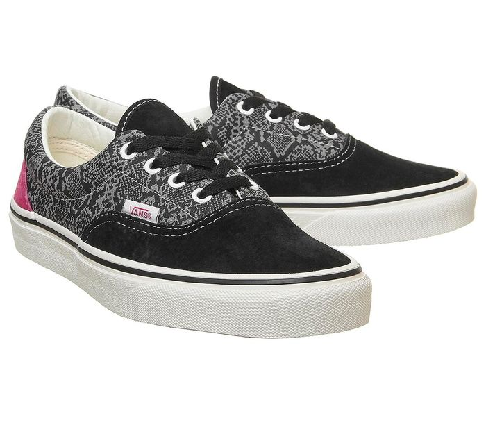Cheap Vans Era Trainers Black Multi Marshmallow Only £25!