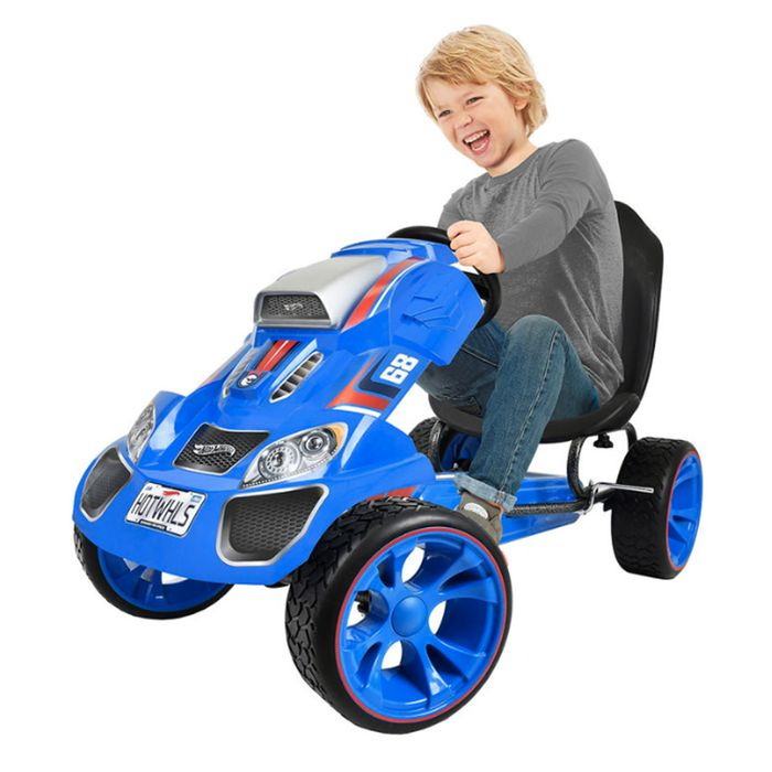 Cheap Hot Wheels XL Pedal Grow with Child Go-Kart (4-12yrs) - Only £73.5!