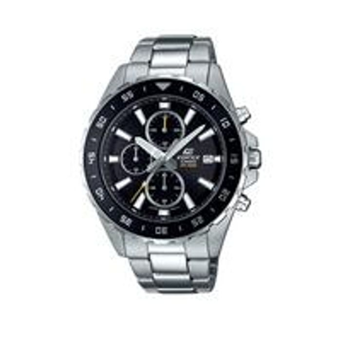Casio Chronograph Dial Stainless Steel Bracelet Mens Watch
