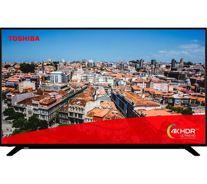 CHEAP! Toshiba 65 Inch, 4K Ultra HD, HDR, Freeview Play, Smart TV