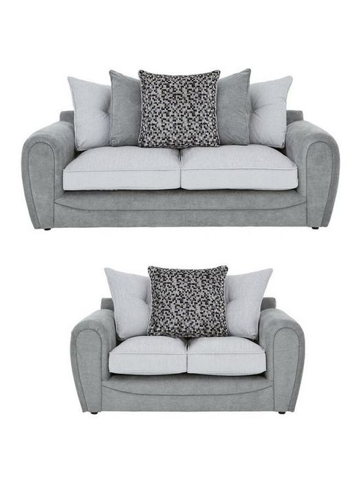 *SAVE £920* Mosaic 3-Seater + 2-Seater Fabric Sofa Set